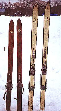 My First and Second Pairs of Skiis